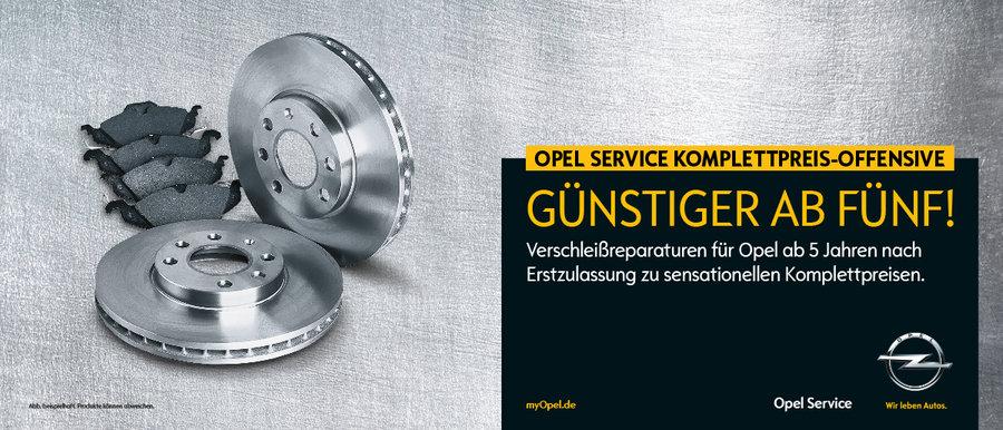 Opel Service - Werkstatt
