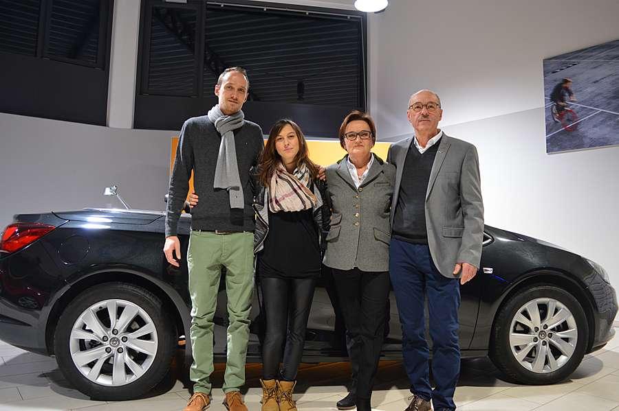 Senior Chef Helmut Simmerl mit Evi Simmerl, Junior Chef Jürgen Simmerl mit Katharina Simmerl